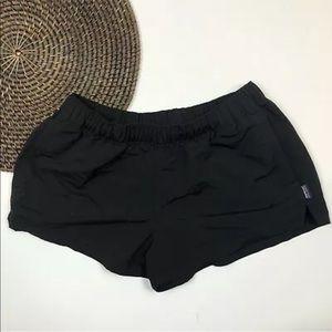 Patagonia Shorts Black Barely Baggies Small
